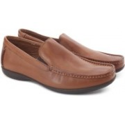 Clarks Finer Sun Tan Leather Formal Shoes(Tan)