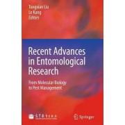 Recent Advances in Entomological Research by Tong-Xian Liu