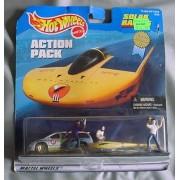 Hot Wheels Action Pack Cal State LA Solar Eagle III 2 Car pack Mini Van by Hot Wheels