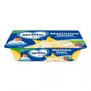 Mellin Merende Frutta - MELLININO Banana - Confezione da 360 g ℮ (6 vasetti x 60 g)
