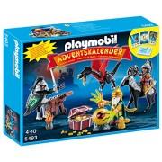 """Playmobil Calendario de Adviento - Calendario de Navidad """"Batalla del Tesoro del Dragón"""" (5493)"""
