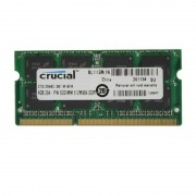 4Go RAM PC Portable SODIMM Crucial CT51264BC1339.M16FR DDR3 PC3-8500 1066MHz
