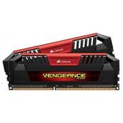 Corsair CMY16GX3M2C1866C10R Vengeance Pro Memorie DDR3L 16 GB, 2x8 GB, Low Voltage 1866 MHz, CL10 XMP, Rosso