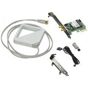 Intel® Dual Band Wireless-AC 7260 + Bluetooth - Internal PCI E 1x Card for Desktop - 7260HMWDTX1.R