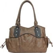 FD Fashion Shoulder Bag(Brown & Black, 5 L)