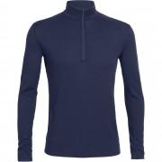 Icebreaker Oasis LS Half Zip Herren Gr. XXL - blau / admiral - Funktionsshirts