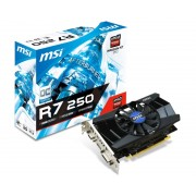 MSI AMD Radeon R7 250 2GB 128bit R7 250 2GD3 OC