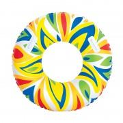 Színes fogantyús úszógumi, 107 cm