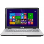 "Laptop ASUS N551JX-V2G-CN086H (Procesor Intel® Core™ i5-4200H (3M Cache, up to 3.40 GHz), Haswell, 15.6""FHD, 8GB, 750GB @7200rpm, nVidia Geforce GTX 950M@2GB, Mini DisplayPort, Tastatura iluminata, Win8.1 64-bit)"