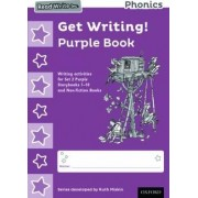 Read Write Inc. Phonics: Get Writing! Purple Book Pack of 10 by Ruth Miskin
