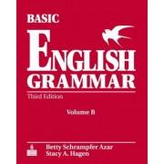 Basic English Grammar Student Book B with Audio CD by Betty Schrampfer Azar