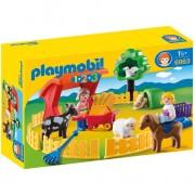 Playmobil 1.2.3 Petting Zoo (6963)