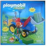 Playmobil Farm Farmers Tractor (5768)