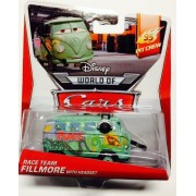 Disney Pixar Cars Fillmore With Headset (Pit Crew Series, #1 Of 5) - Voiture Miniature Echelle 1:55