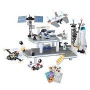 Brictek Space Station Building Blocks Set 706Pcs (Compatible With Legos) Bt-17017 + Coloring Activit