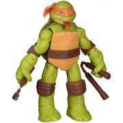 Teenage Mutant Ninja Turtles Tongue Pop Out Michelangelo Action Figure with Nunchucks