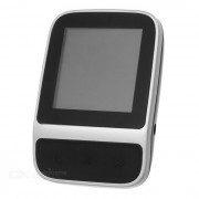"""1.4"""" reproductor de MP3 TFT con podometro / grabadora de voz / FM - negro + plata (8 GB)"""