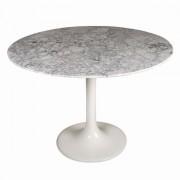 Replica Tulip Table - White Marble - 80cm