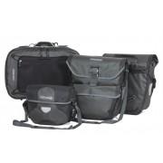 Ortlieb Travel-Set - schiefer - schwarz - Fahrradtaschen