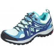 Salomon Ellipse 2 Aero Hiking Shoes Women igloo blue/slateblue/teal blue f 2016 40 Multifunktionsschuhe