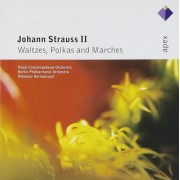 Nikolaus Harnoncourt/Berlin Philharmonic Orchestra - Johann Strauss II:Waltzes,Polkas and Marches (CD)