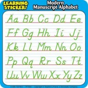 Modern Manuscript Alphabet Learning Stickers by Inc. Scholastic