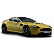 Aston Martin V12 Vantage S geel schaalmodel 1:24