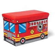 Kidoozie Fire Engine Toy Box