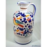 Bottiglia in ceramica arabesco