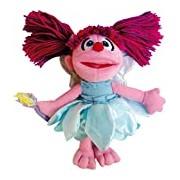 0808282 Sesame Street Abby Cadabby Plush Toy, 24 cm