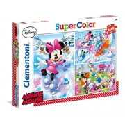 """Clementoni """"Minnie Mouse"""" 3 in 1 Puzzle (144 Piece)"""