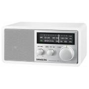 WR-11 Asztali rádió fa dobozos precíziós hangolás fehér színű