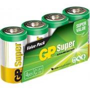 GP Batteries Super Alkaline C Pilas (Alcalino, Cilíndrico, C, Multicolor)