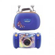 Digital compact cameras VTech VTech Kidizoom Duo blue incl. Carry case 80-170814
