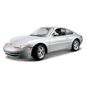 Bburago - 22081s - Véhicule Miniature - Modèle À L'échelle - Porsche 911/996 Carrera - Echelle 1/24 - Modèle aléatoire