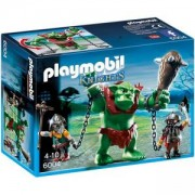 Комплект Плеймобил 6004 - Гигантски трол с джуджета бойци - Playmobil, 291060