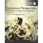 Operations Management: Sustainability and Supply Chain Management Plus MyOMLab with Pearson eText by Jay Heizer