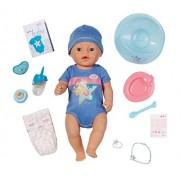 Zapf Creation 819203 - Baby Born Interactive, Bambolotto con accessori