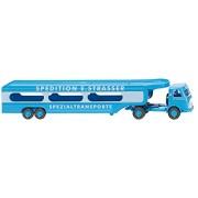 """MB Pullman, Vehículo-transporte, compañía de transportes """"Spedition E. Strasser"""" - Modelo de Auto, modello completo - Wiking 1:87"""