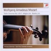 Pinchas Zukerman - Mozart: Violin Concertos No. 4 K218 & No (0886977129124) (1 CD)