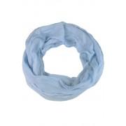 Delia letní kroucená šála proužek světle modrá