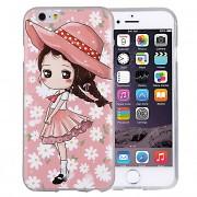Husa silicon TPU Apple iPhone 6 Little Girl Roz