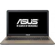 "Laptop ASUS X540SA-XX383 (Procesor Intel® Pentium® N3710 (2M Cache, up to 2.56 GHz), Braswell, 15.6"", 4GB, 500GB, Intel® HD Graphics 405, USB C, Negru Ciocolatiu)"