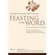Feasting on the Word: Year A, Volume 4 by David L. Bartlett