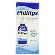 Phillips' Milk of Magnesia Laxative/Antacid Liquid Original 4 fl oz (118 ml)
