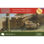 Plastic Soldier 1/72 Panzer IV x 3 # WW2V20002 by Plastic Soldier Company