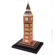 WISDOMTOY 3D Stimulation Building Model Kit Sound Control LED Jigsaw Puzzle Toy, Big Ben