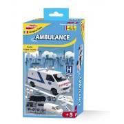 Joustra - 40006 - Jeu De Construction - Ambulance