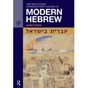 The Routledge Introductory Course in Modern Hebrew by Giore Etzion