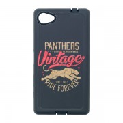 Funda Protector Mixto Uso Rudo Sony Xperia Z5 mini Panthers Negro